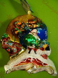 Christopher Radko Twas The Night Glass Ornament #ChristopherRadko