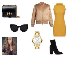"""""""outfit #168"""" by anaguilhermep98 on Polyvore featuring Givenchy, Movado, Valentino and Gucci"""