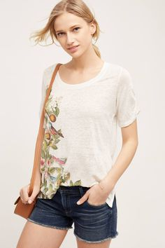 59074c3be23c7c Anthropologie Multicolor New Beach Blossom Tee Shirt Size 6 (S) - Tradesy