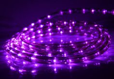 Purple Rope Lights Magnificent Retro Lavender Table Lamp  Lavender Retro And Store Design Decoration