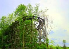 Abondoned rollercoaster
