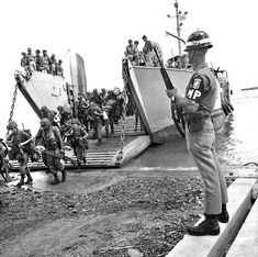 Troops of 1 RAR landed in South Vietnam in June 1965, with military police from the American 173rd Airborne Brigade keeping watch. The battalion was comprised entirely of regular troops during its first deployment and was maintained and supplied by the Americans. The battalion saw some hard fighting and lost 23 men killed before returning to Australia in June 1966