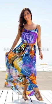 Manuela Arcuri per SANDRO FERRONE summer 2012