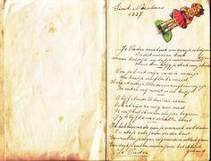 Vintage Cards, Albums, Journaling, Sheet Music, Miniature, Poetry, Writing, Google, Caro Diario