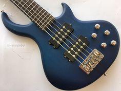 high grade neck through active electric bass guitar #Affiliate