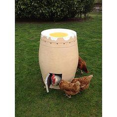 Dippy Egg Chicken Coop - chickens & birds