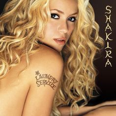 """First Shakira english album """"Laundry Service"""" was released on November 13 2001."""