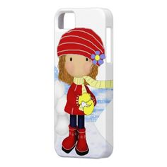 Snowball Diva iPhone Case.. you can also get this design on other cases and products. Add a name ie saying to personalize.