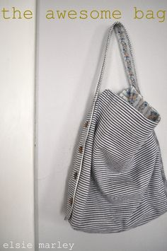 the awesome bag -reversible, adjustable