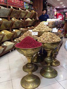 Spices and nuts! Bazaar Tajrish, Tehran Iran. #Iran, #BazaarTajrish, #Tehran, #photography.