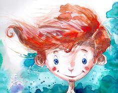 searching the right path by olaru ionut robert, via Behance Children Illustration, Illustration, Anime, Art