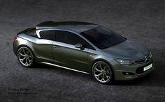 Citroen DS5 Coupe concept