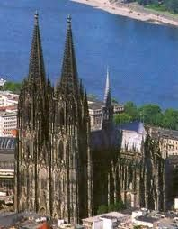 Cathedral of Koln in Germany :: I not only hiked to the top of the steeples but I also got to stand in the bell room as they went off! I was deaf for a week!