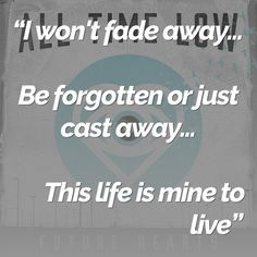 Lyrics from All Time Low - Old Scars / Future Hearts http://alltimelow.tmstor.es/