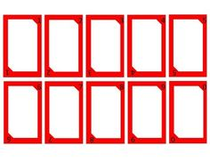 160 Blank Uno Cards Including The Extra Cards Reverse Skip Draw Two And Wild Edit Them For Any Skill You Are Working On Uno Cards Cards Card Template