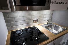 Interior idea, concrete tiles for kitchen, original kitchen, interior design  #concretetiles #tile #tiles #interior #kitchen #bathroom #sink #grey #interiordesign #kafle #betonowekafle #ręcznierobione #dekornia #szarość
