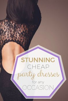 Stunning Cheap Party Dresses For Any Occasion>> http://declarebeauty.com/style/cheap-party-dresses/
