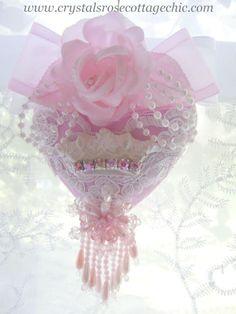 pink shabby chic   www.CrystalsRoseCottageChic.com ©Website Design by: OneSpringStreet ...