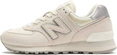 New Balance Women's 574 Sateen Tab Low-Top Sneakers Beige Sneakers, New Balance Women, Slippers, Shoe Bag, Shoes, Lounge, Trends, Gifts, Zapatos