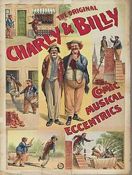 Vintage Circus Poster 1903