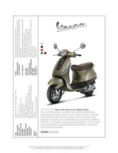 Vespa LX 150 I.E. brochure