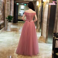 Off Shoulder Dusty Pink Gowns,Long Formal Dresses, Lace-up Prom Dresses 2018 · OKProm · Online Store Powered by Storenvy Junior Party Dresses, Prom Dresses 2018, Party Gowns, Prom Party, Maxi Dresses, Pink Evening Gowns, Pink Gowns, Formal Evening Dresses, Short Sleeve Prom Dresses