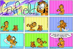 Garfield & Friends | The Garfield Daily Comic Strip for March 18th, 2001