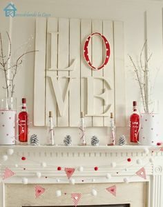 10 Lovely Diy Valentine's Day Decoration Ideas To Create Lovely Atmosphere - Hit DIY Crafts