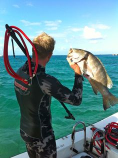 Snapper Spearfishing