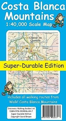 Shop for Costa Blanca Mountains Tour & Trail Super-durable Map. Starting from Choose from the 4 best options & compare live & historic book prices. Walking Map, Walking Routes, Scale Map, Touring, Trail, Mountains, Beach, Biking, Book