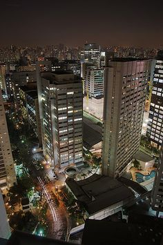 Sao Paulo, Brazil. The city that never sleeps.