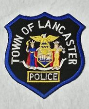 TOWN OF LANCASTER, NEW YORK  POLICE SHOULDER PATCH