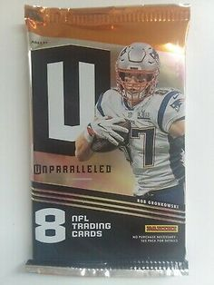 2019 Panini Unparalleled Football 8 Card Pack NFL Autographs & Relics Available* Football Cards, Baseball Cards, Nfl Season, Ebay, Design, Soccer Cards, Design Comics