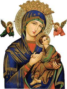 Santa María, Madre de Dios y Madre nuestra: 27 de junio   NUESTRA SEÑORA DEL PERPETUO SOCORRO