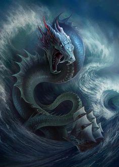 [Trama Global] Emisario del Caos I - Página 2 C12fc9f5b7207b2baf86699d7c053843--fantasy-kreaturen-dragon-art