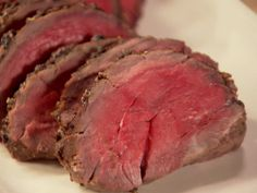 Balsamic Roasted Beef recipe from Ina Garten via Food Network