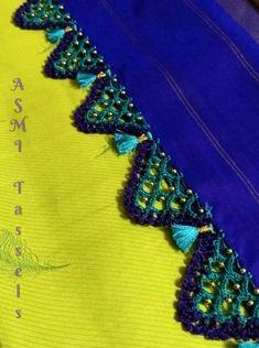 #SilkThread#Tassels#Beads#Crochet#Bridal