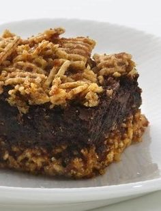 Gluten Free Mexican Chocolate Brownies
