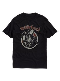 Motorhead - Lemmy Vintage '81 Black T-shirt - BRAND NEW #Pacific #GraphicTee