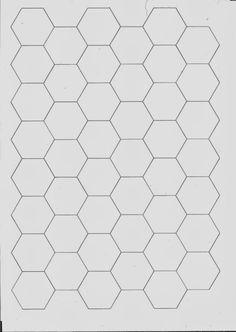 MARMEL: Hexagony (babiččina Zahrádka)   šablona Ke Stažení
