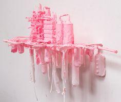 pink work by Stefan Gross, via Behance