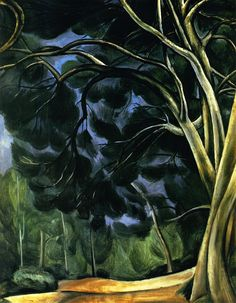 André Derain   Tree Trunks   (1880– 1954) French artist, co-founder of Fauvism with Henri Matisse