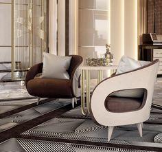Noir Collection www.turri.it Italian luxury design armchairs