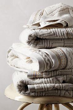 Shop Printed Bath Towels & Hand Towels   Anthropologie