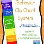 Behavior Clip Chart System - Behavior Management - Amy Alvis