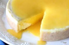 Lilikoi (Passion Fruit)  Cheesecake