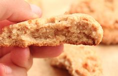 Protein powder makes cookies better (and healthier!). Just ask these Almond Bliss Cookies.