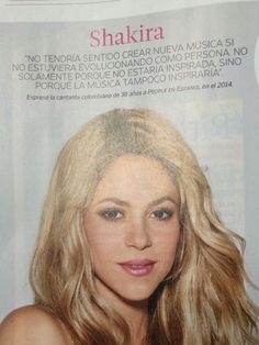 People en espanol Shakira, Cognates, Ten, Singers, People, Musica