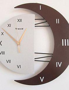 """12.5 """"numeri romani muto orologio da parete di modo (colore casuale) EURO 35,78"""