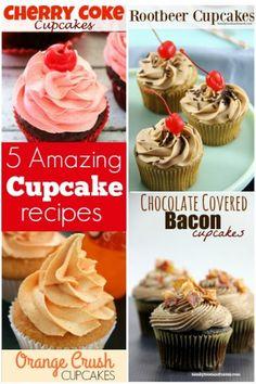 5 Crazy Cupcake Recipes
